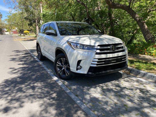 Pre-Owned Toyota Kluger GSU55R GX AWD Hawthorn, 2018 Toyota Kluger GSU55R GX AWD White 8 Speed Sports Automatic Wagon