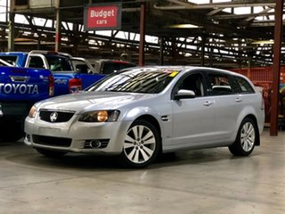 2012 Holden Commodore VE II MY12.5 Omega Sportwagon Silver 6 Speed Sports Automatic Wagon.