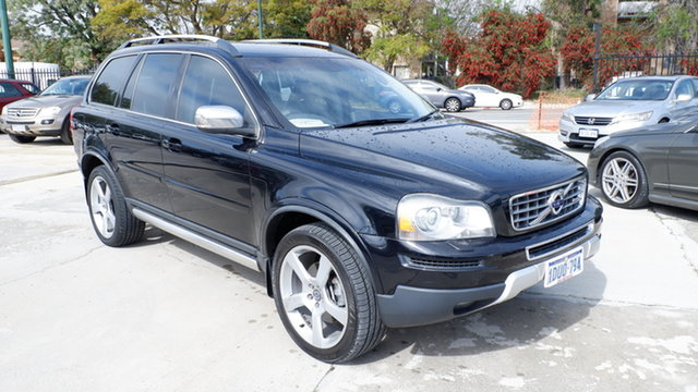 Used Volvo XC90 P28 MY11 D5 Geartronic St James, 2011 Volvo XC90 P28 MY11 D5 Geartronic Black 6 Speed Sports Automatic Wagon