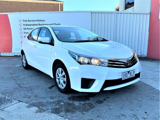 Pre-Owned Toyota Corolla Glen Waverley, Corolla Sedan Ascent 1.8L Petrol CVT
