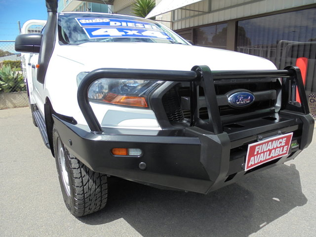 Used Ford Ranger PX MkII XL Edwardstown, 2017 Ford Ranger PX MkII XL White 6 Speed Sports Automatic Cab Chassis