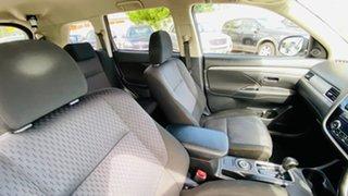 2013 Mitsubishi Outlander ZJ MY14 LS 4WD Silver 6 Speed Sports Automatic Wagon
