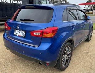 2015 Mitsubishi ASX XB MY15.5 LS Blue Continuous Variable Transmission Wagon.