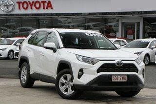 2020 Toyota RAV4 Mxaa52R GX 2WD Glacier White 10 Speed Constant Variable Wagon.