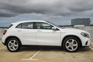 2018 Mercedes-Benz GLA-Class X156 808+058MY GLA220 d DCT White 7 Speed Sports Automatic Dual Clutch.