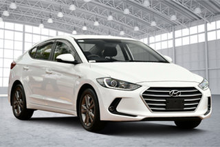 2018 Hyundai Elantra AD MY18 Active White 6 Speed Sports Automatic Sedan.