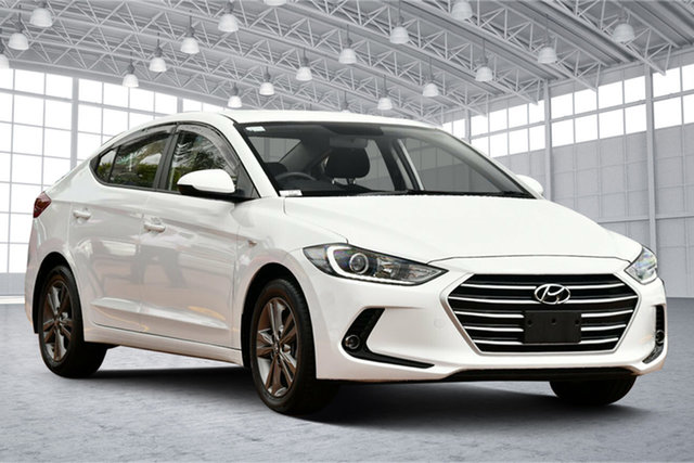 Used Hyundai Elantra AD MY18 Active Victoria Park, 2018 Hyundai Elantra AD MY18 Active White 6 Speed Sports Automatic Sedan
