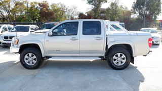 2010 Holden Colorado RC MY10 LT-R Crew Cab Silver 4 Speed Automatic Utility