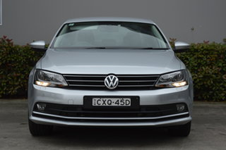 2014 Volkswagen Jetta 1B MY14 118TSI DSG Highline Silver, Chrome 7 Speed.