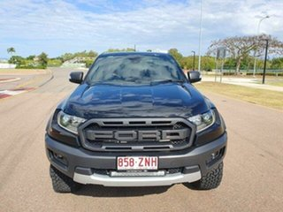 2020 Ford Ranger PX MkIII 2020.25MY Raptor Shadow Black 10 Speed Sports Automatic Double Cab Pick Up.