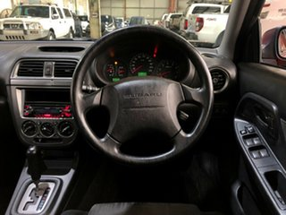 2003 Subaru Impreza S MY03 GX AWD Red 4 Speed Automatic Hatchback