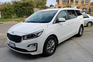 2019 Kia Carnival YP MY20 SI White 8 Speed Sports Automatic Wagon.