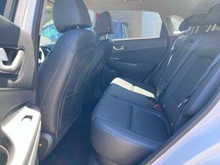 2021 Hyundai Kona Os.v4 MY21 electric Elite Atlas White 1 Speed Reduction Gear Wagon