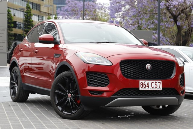 Used Jaguar E-PACE X540 18MY Standard R-Dynamic S Newstead, 2018 Jaguar E-PACE X540 18MY Standard R-Dynamic S Red 9 Speed Sports Automatic Wagon