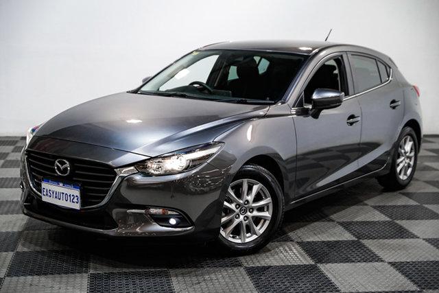 Used Mazda 3 BN5278 Maxx SKYACTIV-Drive Sport Edgewater, 2018 Mazda 3 BN5278 Maxx SKYACTIV-Drive Sport Grey 6 Speed Sports Automatic Sedan