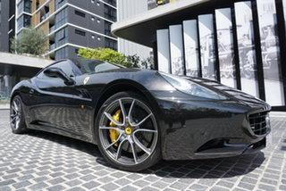 2011 Ferrari California F149 No Badge Nero Daytona 7 Speed Sports Automatic Dual Clutch Convertible.