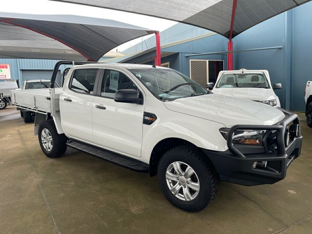 Used Ford Ranger PX MkII MY18 XL 3.2 Plus (4x4) Toowoomba, 2018 Ford Ranger PX MkII MY18 XL 3.2 Plus (4x4) White 6 Speed Automatic Crew Cab Chassis