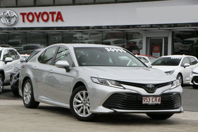 Pre-Owned Toyota Camry ASV70R Ascent North Lakes, 2019 Toyota Camry ASV70R Ascent Silver 6 Speed Sports Automatic Sedan