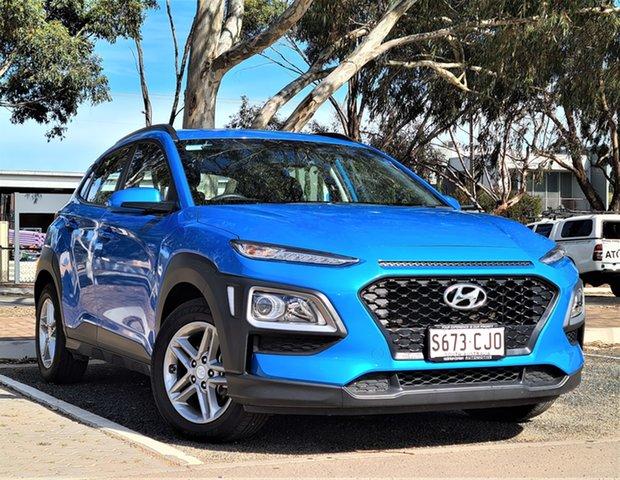 Used Hyundai Kona OS.2 MY19 Active 2WD St Marys, 2019 Hyundai Kona OS.2 MY19 Active 2WD Blue 6 Speed Sports Automatic Wagon