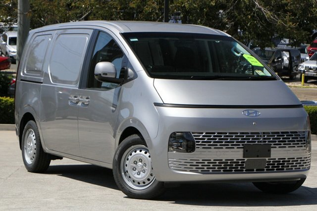 New Hyundai Staria-Load US4.V1 MY22 Limited Release Moorooka, 2021 Hyundai Staria-Load US4.V1 MY22 Limited Release Shimmering Silver 8 Speed Sports Automatic Van