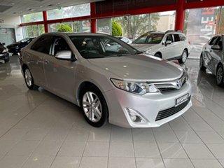2012 Toyota Camry AVV50R Hybrid H Silver 1 Speed Constant Variable Sedan Hybrid.