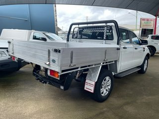 2018 Ford Ranger PX MkII MY18 XL 3.2 Plus (4x4) White 6 Speed Automatic Crew Cab Chassis.