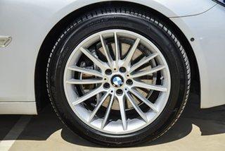 2014 BMW 7 Series F01 LCI 730d Steptronic Silver, Chrome 8 Speed Sports Automatic Sedan