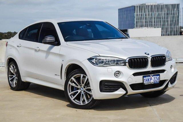 Used BMW X6 F16 xDrive40d Coupe Steptronic Osborne Park, 2016 BMW X6 F16 xDrive40d Coupe Steptronic White 8 Speed Sports Automatic Wagon