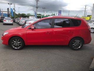 2011 Hyundai i30 FD MY11 CW SLX 1.6 CRDi Red 4 Speed Automatic Wagon