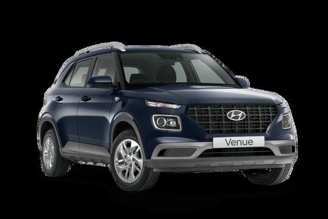 Demo Hyundai Venue QX.V3 MY21 Hamilton, 2021 Hyundai Venue QX.V3 MY21 The Denim 6 Speed Automatic Wagon