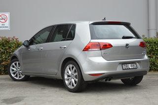 2015 Volkswagen Golf VII MY16 110TSI DSG Highline Silver, Chrome 7 Speed.