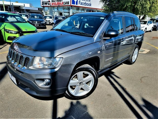 Used Jeep Compass MK MY12 Limited CVT Auto Stick Seaford, 2012 Jeep Compass MK MY12 Limited CVT Auto Stick Grey 6 Speed Constant Variable Wagon