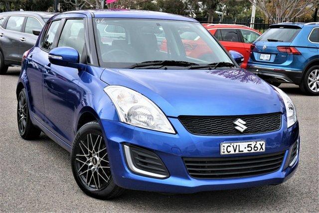 Used Suzuki Swift FZ MY15 GL Phillip, 2016 Suzuki Swift FZ MY15 GL Blue 4 Speed Automatic Hatchback