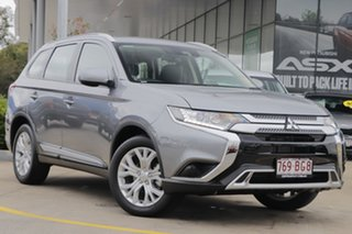 2020 Mitsubishi Outlander ZL MY20 ES 2WD ADAS Grey 6 Speed Constant Variable Wagon.