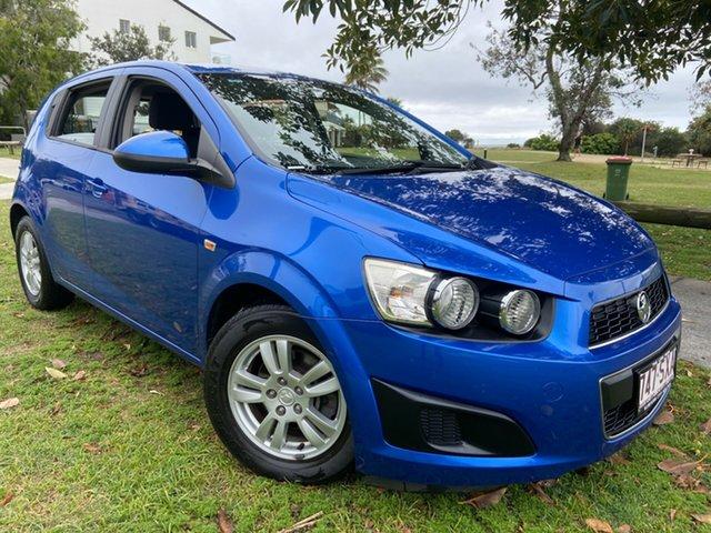 Used Holden Barina TM MY13 CD Tugun, 2012 Holden Barina TM MY13 CD Blue 6 Speed Automatic Hatchback