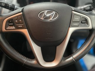 2018 Hyundai Accent RB6 MY18 Sport Blue 6 Speed Sports Automatic Hatchback