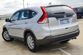 2014 Honda CR-V RM MY15 VTi Navi Silver, Chrome 5 Speed Automatic Wagon.