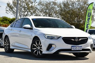 2019 Holden Commodore ZB MY19.5 RS Liftback White 9 Speed Sports Automatic Liftback.