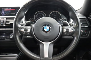 2015 BMW 4 Series F36 435i Gran Coupe Black 8 Speed Sports Automatic Hatchback