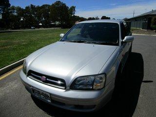 1999 Subaru Liberty MY99 RX Silver 4 Speed Automatic Sedan.