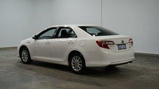 2014 Toyota Camry AVV50R Hybrid H Diamond White 1 Speed Constant Variable Sedan Hybrid.