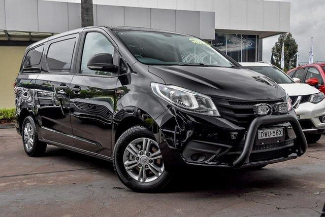 Used LDV G10 SV7C Waitara, 2019 LDV G10 SV7C Black 6 Speed Automatic Van