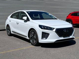 2021 Hyundai Ioniq AE.V4 MY22 hybrid DCT Premium Polar White 6 Speed Sports Automatic Dual Clutch.