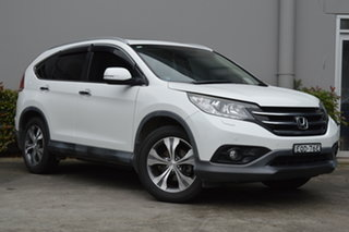 2013 Honda CR-V RM VTi-L 4WD White 5 Speed Automatic Wagon.