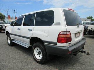1999 Toyota Landcruiser HZJ105R GXL White 5 Speed Manual Wagon