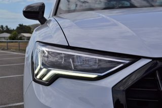 2019 Audi Q3 F3 MY20 35 TFSI Sportback S Tronic Launch Edition White 6 Speed.