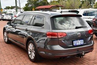 2017 Volkswagen Passat 3C (B8) MY17 132TSI DSG Comfortline Grey 7 Speed Sports Automatic Dual Clutch.