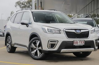 2019 Subaru Forester S5 MY20 2.5i-S CVT AWD White 7 Speed Constant Variable Wagon.
