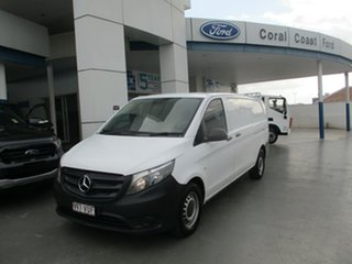 2015 Mercedes-Benz Vito 447 114 BlueTEC LWB White 7 Speed Automatic Van.