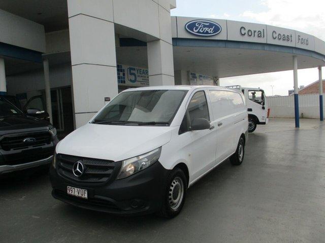 Used Mercedes-Benz Vito 447 114 BlueTEC LWB Bundaberg, 2015 Mercedes-Benz Vito 447 114 BlueTEC LWB White 7 Speed Automatic Van